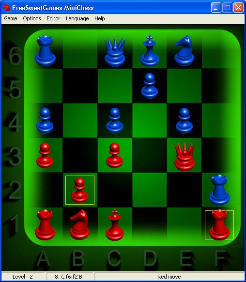 The object in game is to trap, or checkmate, the opponent's king.